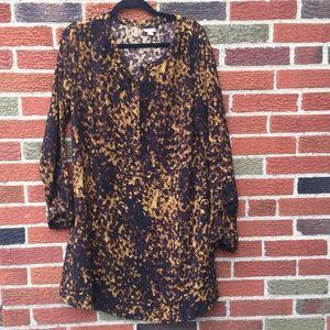 Merona Leopard Dress